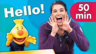 Hello Songs + More | Kids Songs | Sing Along With Tobee | Super Simple Songs