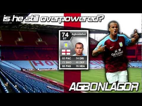 FIFA 13 Ultimate team - Is he still overpowered? - Gabriel Agbonlahor review including game stats!