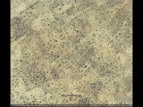 Misterios y zonas curiosas en Google Earth