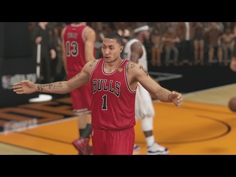 NBA 2K14 PS4 My Career NFG1 Finals Rematch