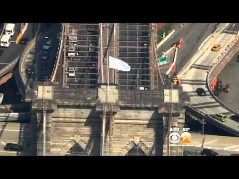 Massive NYPD Response Day After Brooklyn Bridge White Flag Incident