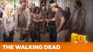 "THE WALKING DEAD |  Making Of ""Thank You"" 