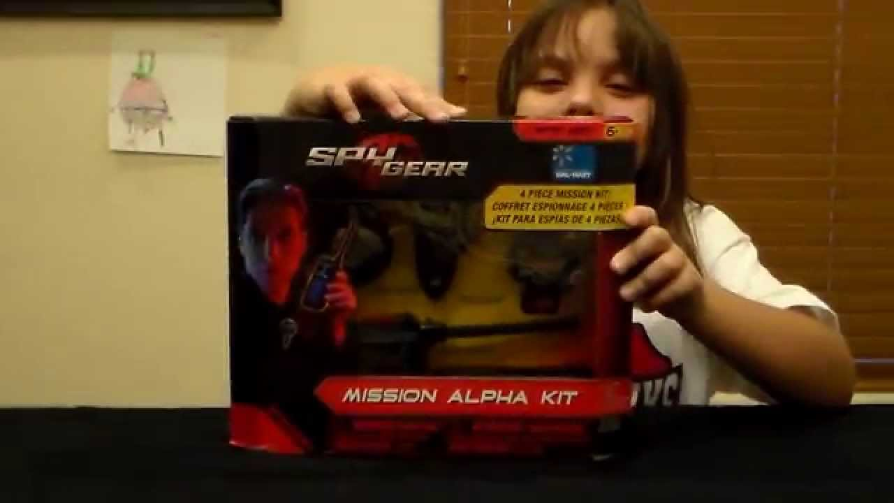 Spy Kit Spy Gear Mission Alpha Kit