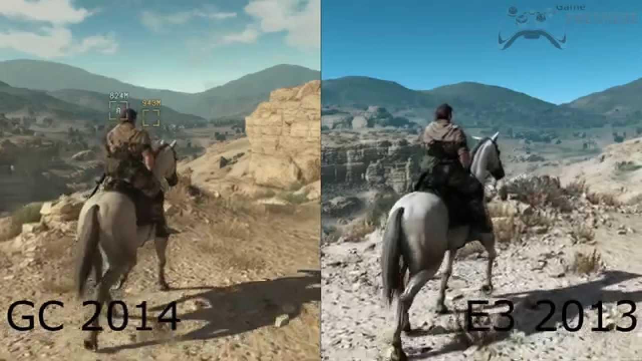 Metal Gear Solid V: The Phantom Pain - E3 2013 vs Gamescom ...