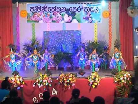 Kahawatta Rishinikethana Pre School 2014 Concert Mayura Wannama video