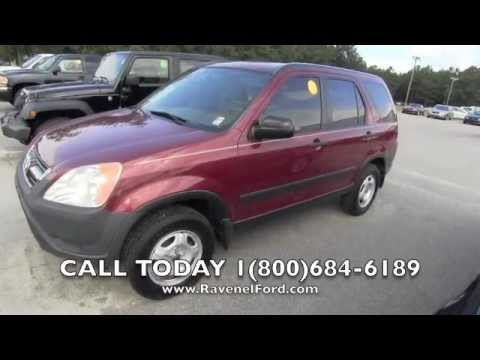 2003 HONDA CR-V LX AWD Review Car Videos * Picnic Table Manual Transmission Sale @ Ravenel Ford SC