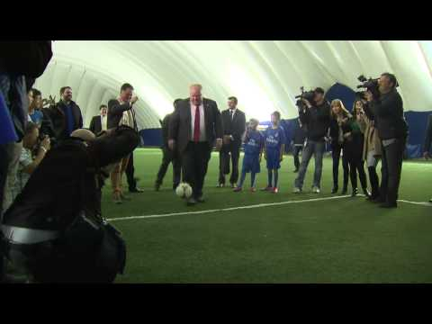 RAW VIDEO: Mayor Ford scores twice against young soccer goalie; apologizes for hard shot