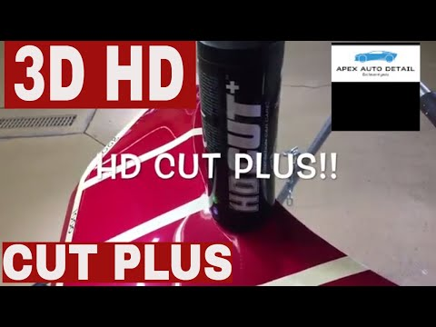 3D HD CUT PLUS !! NEW FORMULA!! Nano Abrasive Compound!