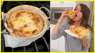 MAKING A PIZZA CAKE!