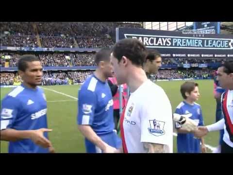 Wayne Bridge Refuse Handshake of John Terry HD (cheers & boo's)