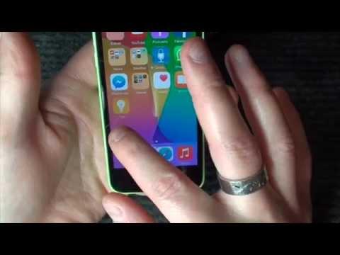 iPhone 5c iOS 8