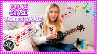 Download Lagu HER FIRST UKULELE!! CAN SHE SING AND PLAY IT? Gratis STAFABAND