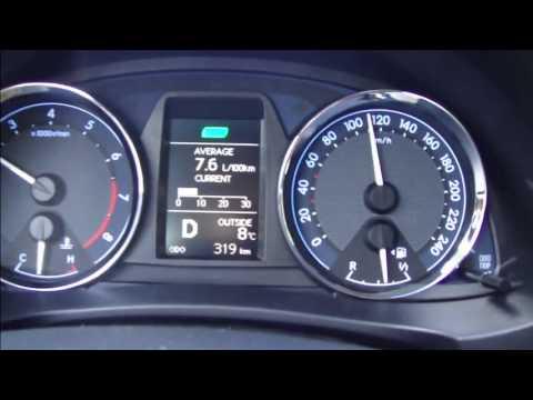 Test Drive New 2015 Toyota Corolla 1 6 Liter Valvematic