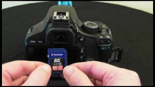 Canon EOS 550D - Part 7 - Improving performance (Verbatim Pro SDHC)