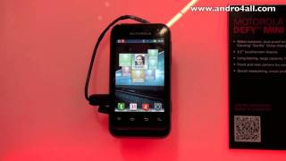 Motorola Defy Mini MWC 2012 [HD]