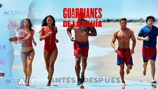 Baywatch Before And After 2017 🏄Guardianes de la Bahía Antes y Después 2017 🌞