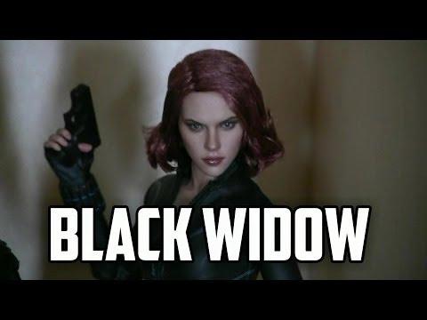 Man Cave Update - Hot Toys Black Widow