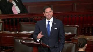 Rubio speaks on Senate floor regarding the crisis in Venezuela caused by dictator Nicolas Maduro