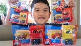 Brandnew Disney Cars 2019 Toys Mini Racers XRS Racers Series McQueen Gold Rusteze Cruz Ramirez