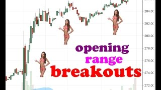 Simple day trading strategy: Opening range breakouts // Intraday stocks trading system, market tips