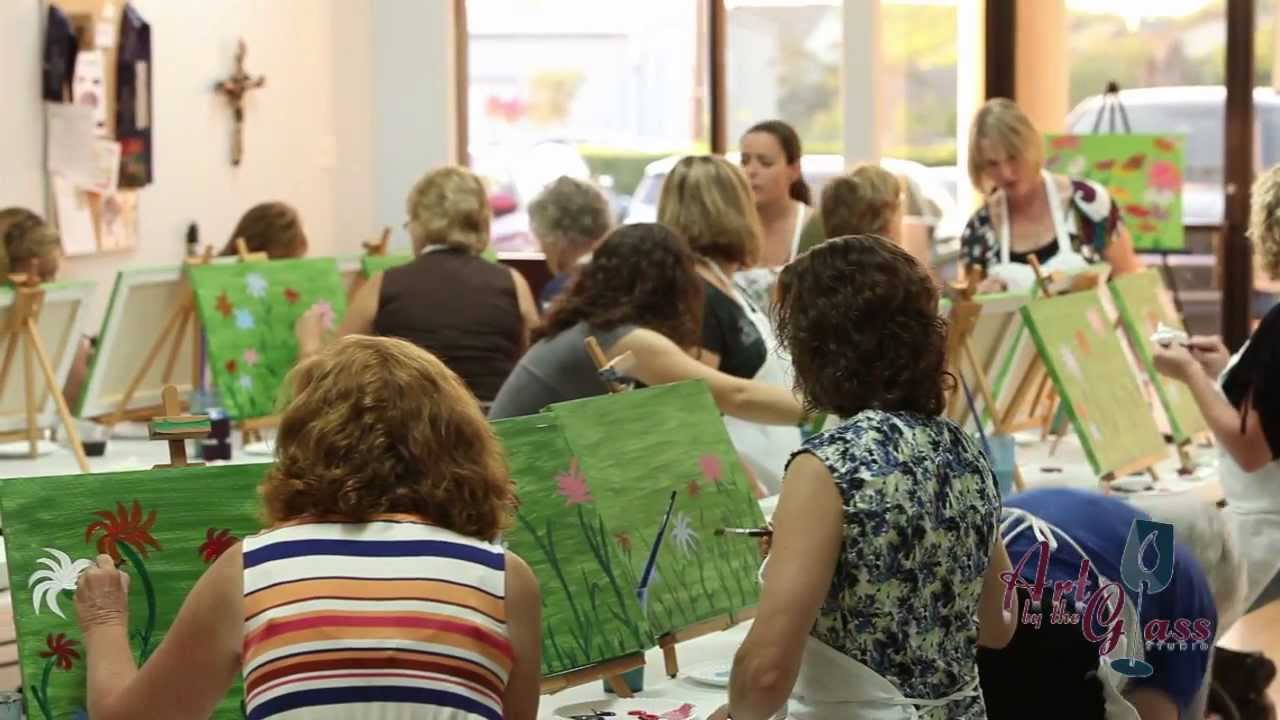 Paint and sip austin texas art youtube for Sips texas