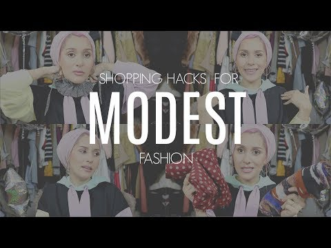 HOW TO SHOP MODEST FASHION - YouTube