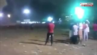Video Of Temple Fire In Kollam, Kerala