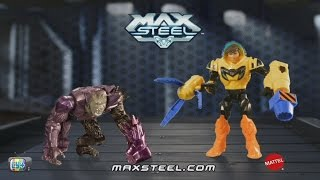 Max steel turbo garra Vs Extroyer Simio Comercial HD 2016