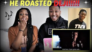 """""""KSI'S LITTLE BROTHER"""" - DEJI DISS TRACK (OFFICIAL MUSIC VIDEO) REACTION!!!"""