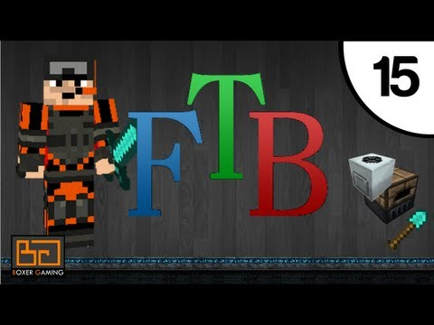 FTB - #15 - Geothermal Generators, Upgrades! [MineCraft] [Feed The Beast] [Direwolf20 Pack]