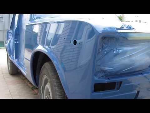 Покраска авто акриловой краской видео