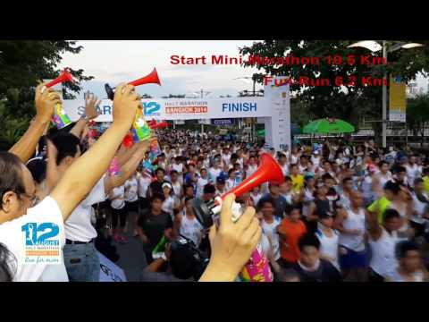 12 August Half Marathon Bangkok 2014 22rd.