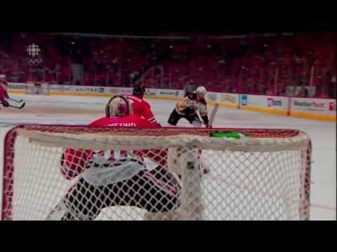 Daniel Paille's OT Winner - Goal June 15 2013 Game 2 Stanley Cup Finals HD