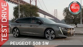 Peugeot 508 Sw a Ruote in Pista