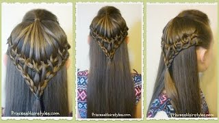 Umbrella Lace Hairstyle Tutorial