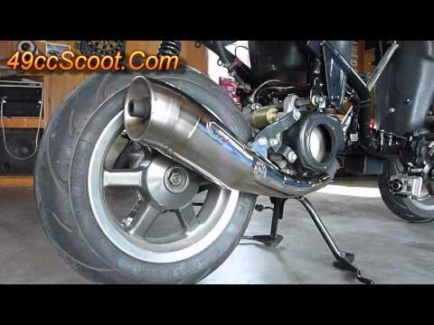 Leovince Yamaha Zuma Zx R Exhaust For Yamaha Zuma Cc