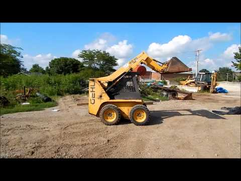 1999 Gehl 4835 SXT skid steer Demo