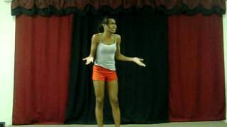 Teen Monologue Demonstration for Film & TV Auditions ACNE WITH ATTITUDE