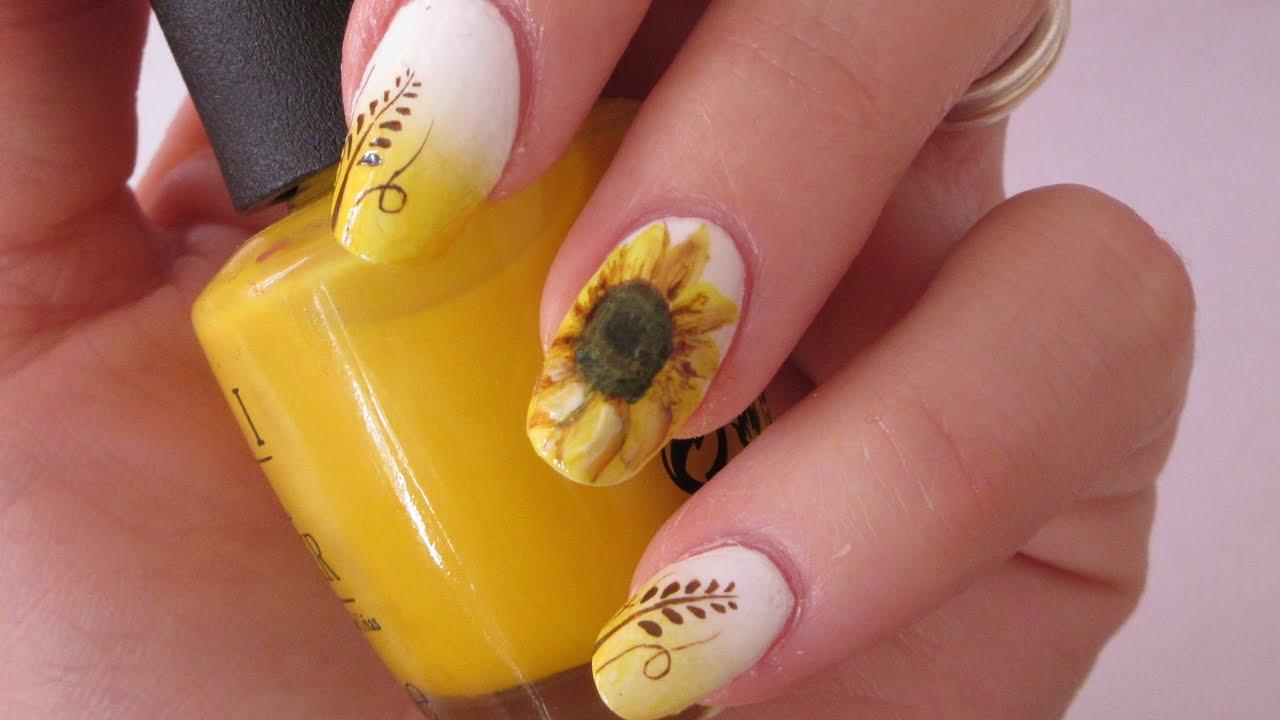 Дизайн ногтей желтый френч с рисунком фото