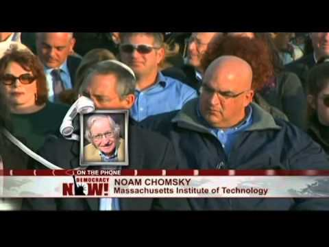 Noam Chomsky on Ariel Sharon: Not Speaking Ill of the Dead