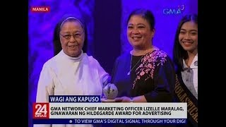 24 Oras: GMA Network Chief Marketing Officer Lizelle Maralag, ginawaran ...