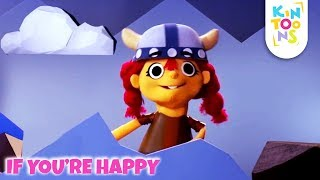 If You're Happy And You Know It - Action Songs For Kids | Kids Songs & Nursery Rhyme | KinToons
