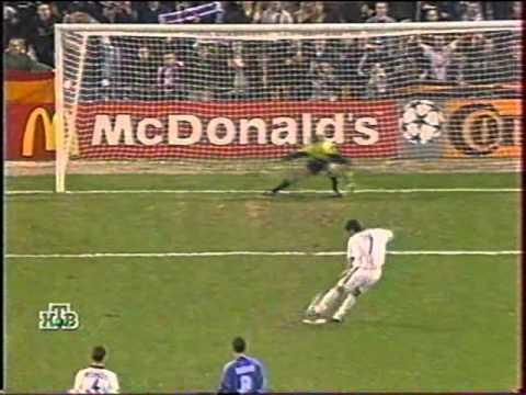 Реал (Мадрид) - Динамо (Киев) 2:2. ЛЧ-1999/00 (обзор).
