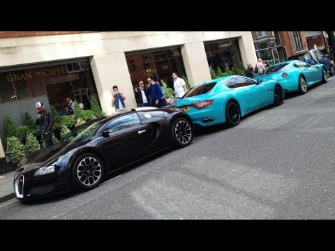 London Supercars in June 2013
