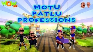 Motu Patlu - Professions - Compilation Part 1 - 30 Minutes of Fun! As seen on Nickelodeon