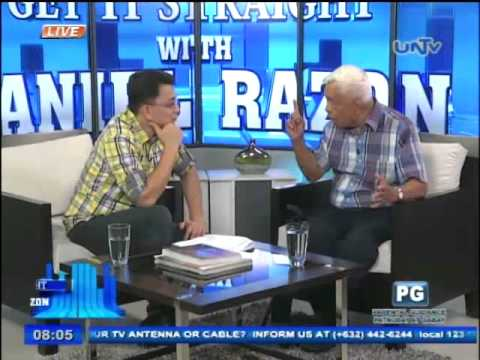 Senator Aquilino Pimentel Jr. on Bangsamoro Basic Law