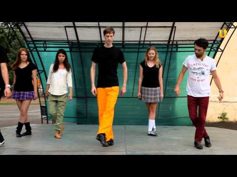 Уроки ирландского танца - видео