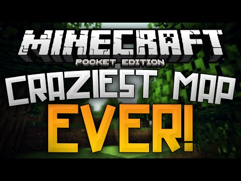 MY MIND HAS BEEN BLOWN Coolest Map Ever Minecraft Pocket Edition