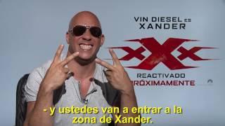 Vin Diesel en XXX con Nicky Jam (entrevistas exclusivas)