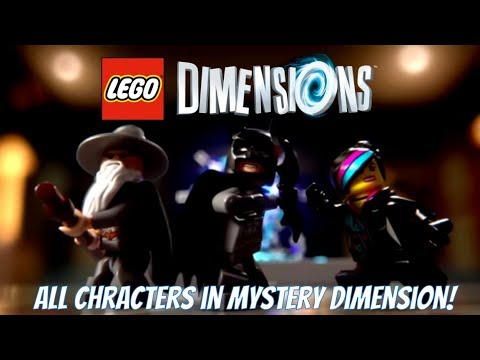 LEGO Dimensions - Mystery Dimension Gameplay with all 25 Characters!!